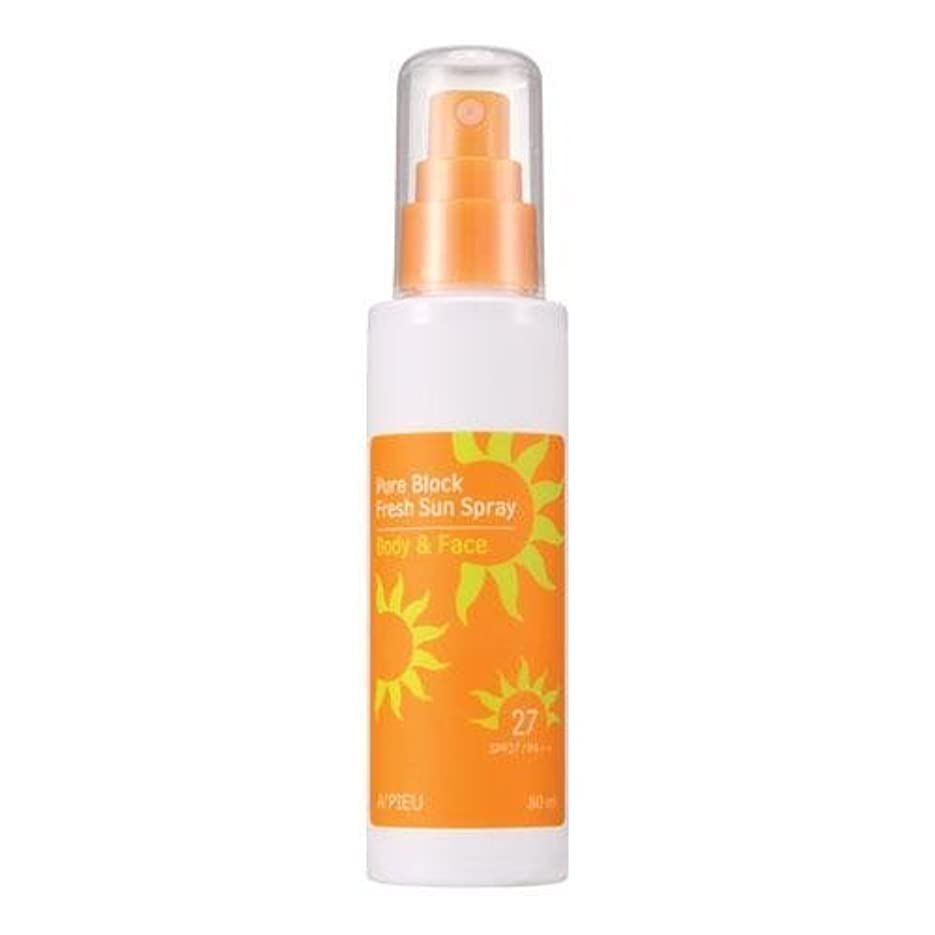 実装する不注意自然APIEU Pure Block Fresh Sun Spray (SPF27,PA++) [Korean Import]