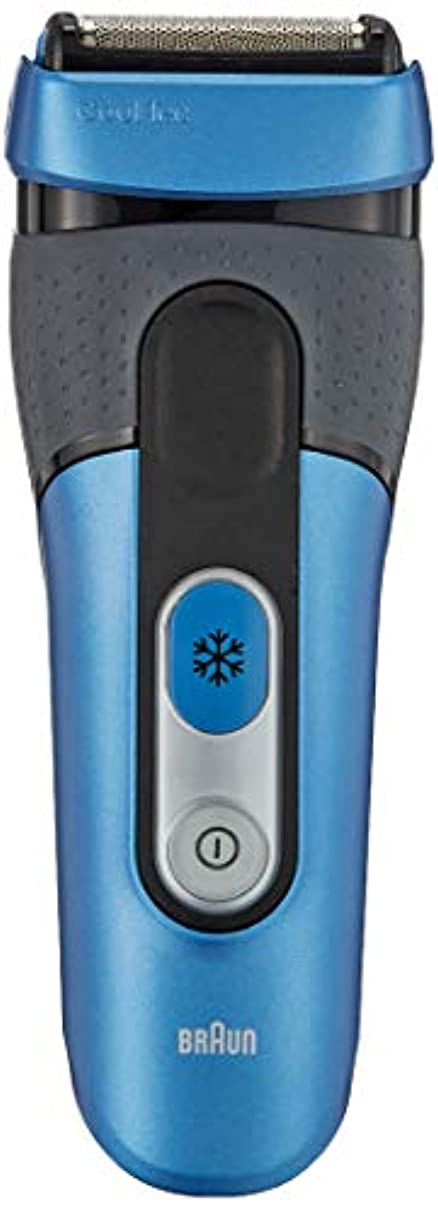 卒業パフ仕事に行くブラウン メンズ電気シェーバー クールテック CT4s 3枚刃 水洗い/お風呂剃り可