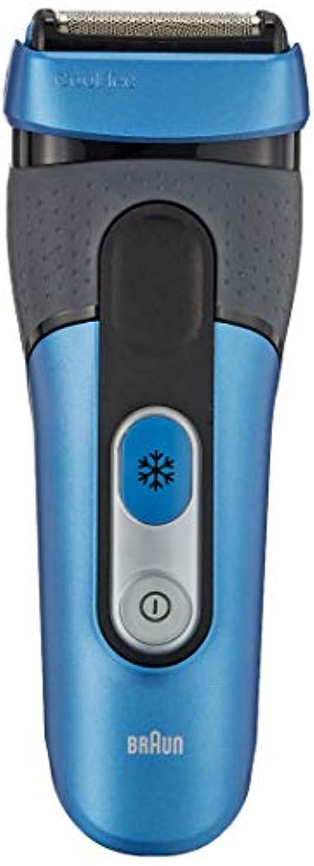 ビート水星プロトタイプブラウン メンズ電気シェーバー クールテック CT4s 3枚刃 水洗い/お風呂剃り可