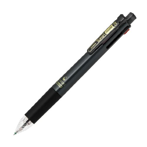 ゼブラ 多機能ペン 4色+シャープ スラリマルチ 0.5 黒 P-B4SAS11-BK