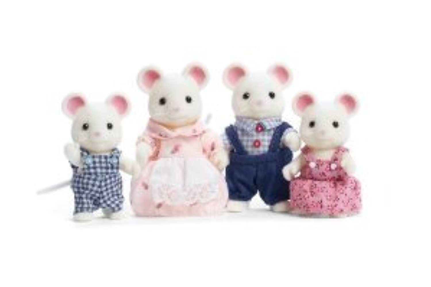 Calico Critters Milky Mouse Family(並行輸入)
