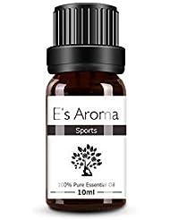 E's Aroma アロマオイル ブレンド 100%純正 エッセンシャルオイル 厳選精油 10ml スポーツ