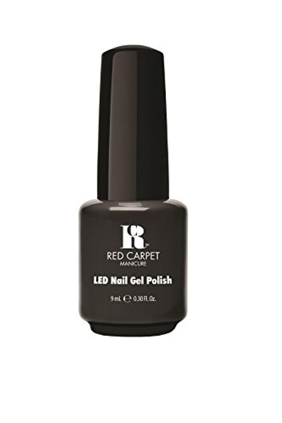 熟達した転用混雑Red Carpet Manicure - LED Nail Gel Polish - Secret Society - 0.3oz/9ml