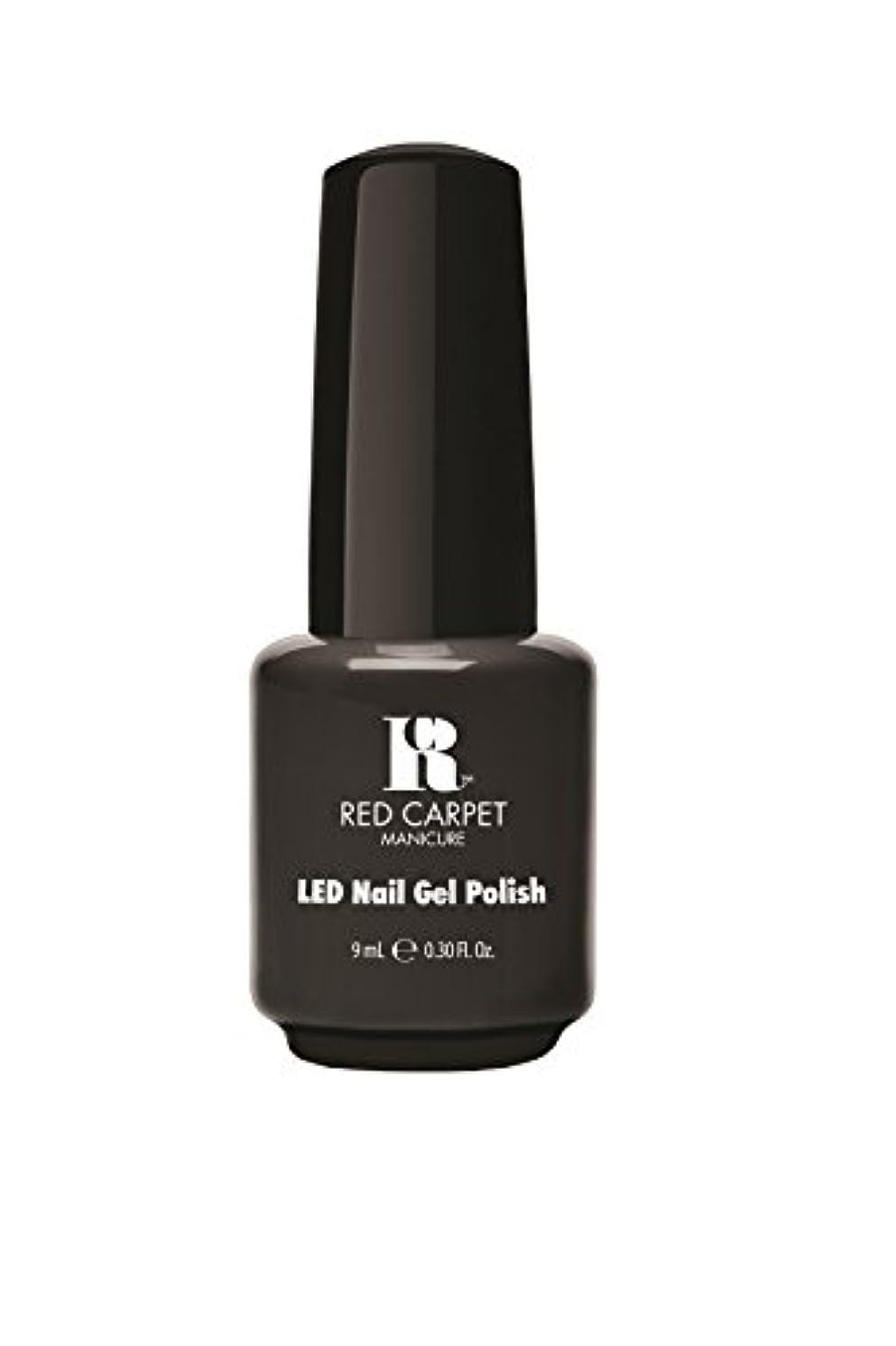 第銀河ラグRed Carpet Manicure - LED Nail Gel Polish - Secret Society - 0.3oz/9ml