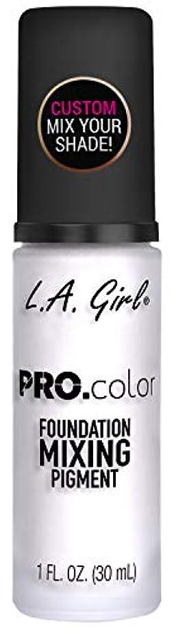 絶滅急性強いL.A. GIRL Pro Color Foundation Mixing Pigment - White (並行輸入品)