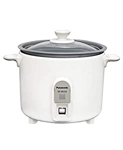 パナソニック 1.5合 炊飯器 小型 ミニクッカー ホワイト SR-MC03-W