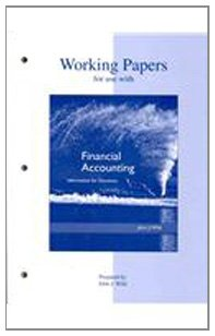 Download Working Papers to accompany Financial Accounting 0073043761