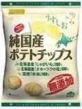 ノースカラーズ 純国産ポテトチップス・うすしお 60g