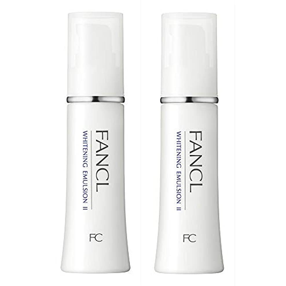 酒上に臨検ファンケル(FANCL) 新 ホワイトニング 乳液 II しっとり 2本<医薬部外品>