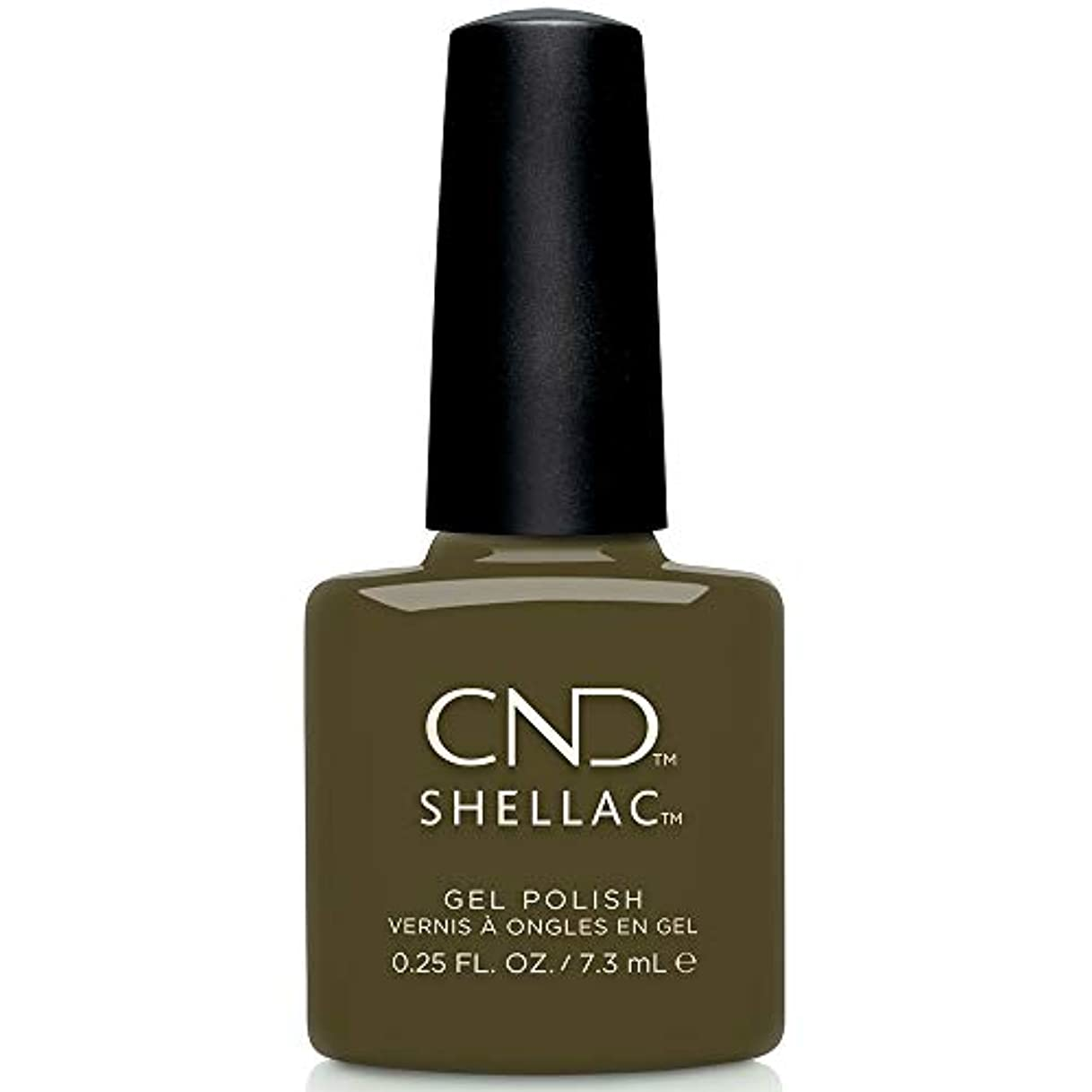 批判的写真のビタミンCND Shellac - Treasured Moments Fall 2019 Collection - Cap & Gown - 0.25oz / 7.3ml