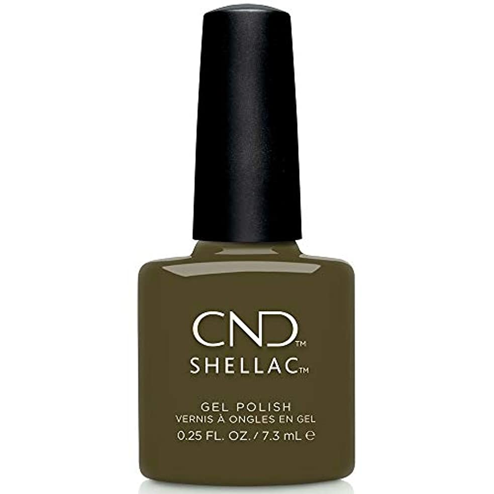 うねる上市の中心部CND Shellac - Treasured Moments Fall 2019 Collection - Cap & Gown - 0.25oz / 7.3ml