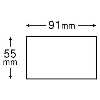 エレコム マルチカード 名刺サイズ 120枚分 片面光沢 厚口 ホワイト MT-KMC2WN