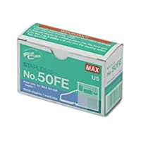 【並行輸入品】Max 50-FE Staple Cartridge for EH-50F Flat-Clinch Electric Stapler 5000/Box