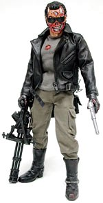 Terminator 1 - Deluxe 12 Inch Figure Battle Damaged T- 800