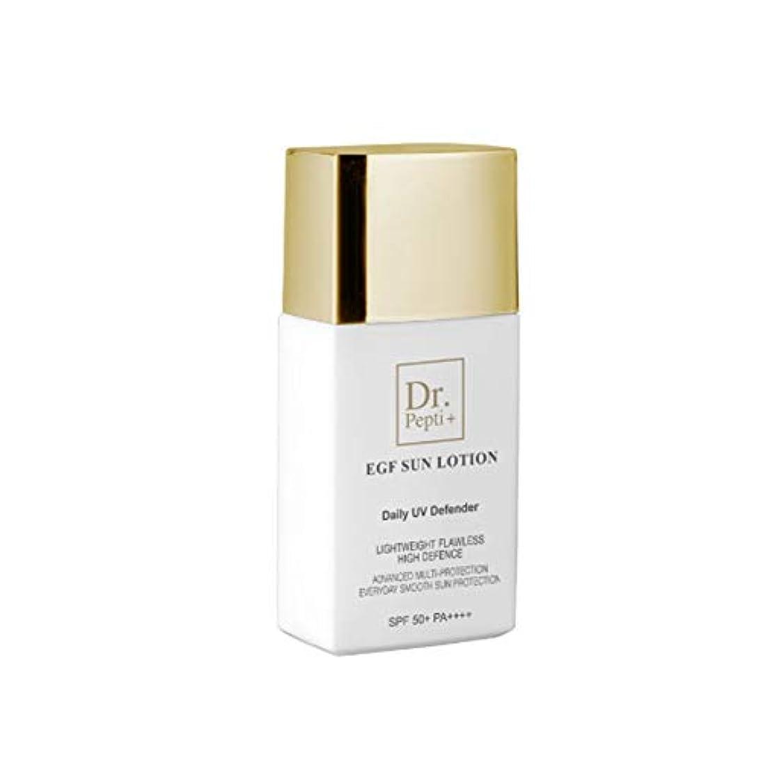 レンダータッチラケットジェイアンドコーシュドクターペプチEGFサンローション50mlサンクリーム韓国コスメ、J&Coceu Dr.Pepti+ EGF Sun Lotion 50ml Sun Cream Korean Cosmetics [並行輸入品]