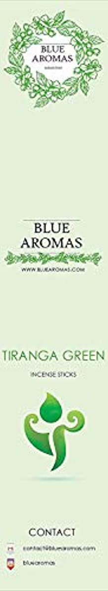 臭いストレスの多いショップBlue Aromas TIRANGA Green Incense Sticks Agarbatti |Pack of 8, 10 Sticks in Each Pack Incense | Export Quality