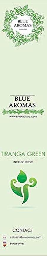 クルーズアセンブリレインコートBlue Aromas TIRANGA Green Incense Sticks Agarbatti |Pack of 8, 10 Sticks in Each Pack Incense | Export Quality
