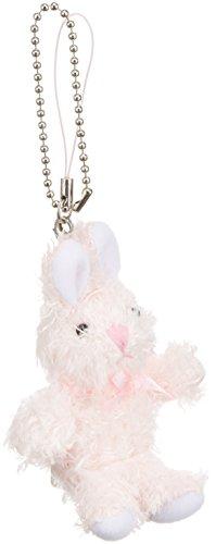[해외]쿳삐 토끼 스트랩 열쇠 고리 밀키 핑크 L5870516/Cupy Bunny Strap Key Chain Milky Pink L5870516