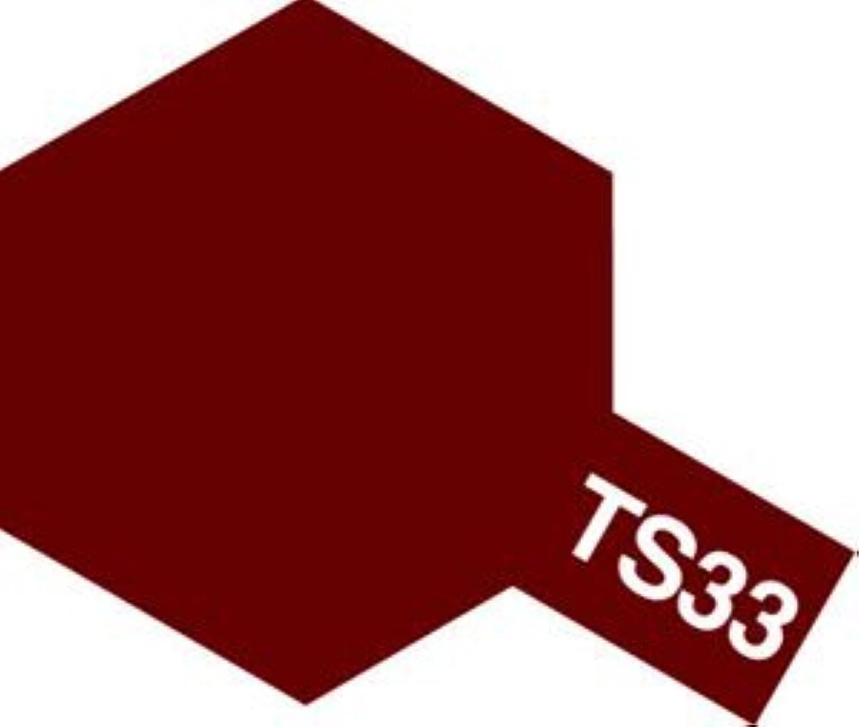 タミヤカラー スプレーカラー TS-33 ダルレッド