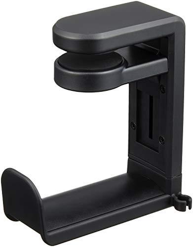 サンワサプライ 回転式ヘッドホンフック デスク天板にクランプ可能 PDA-STN18BK