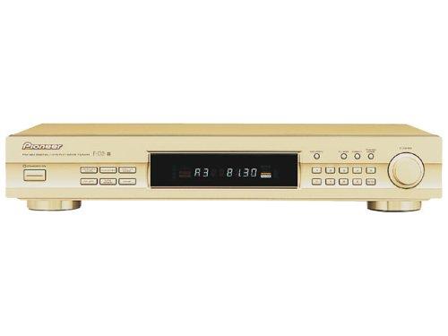 Pioneer FM/AMデジタルシンセサイザーチューナー AMステレオ搭載  F-D3