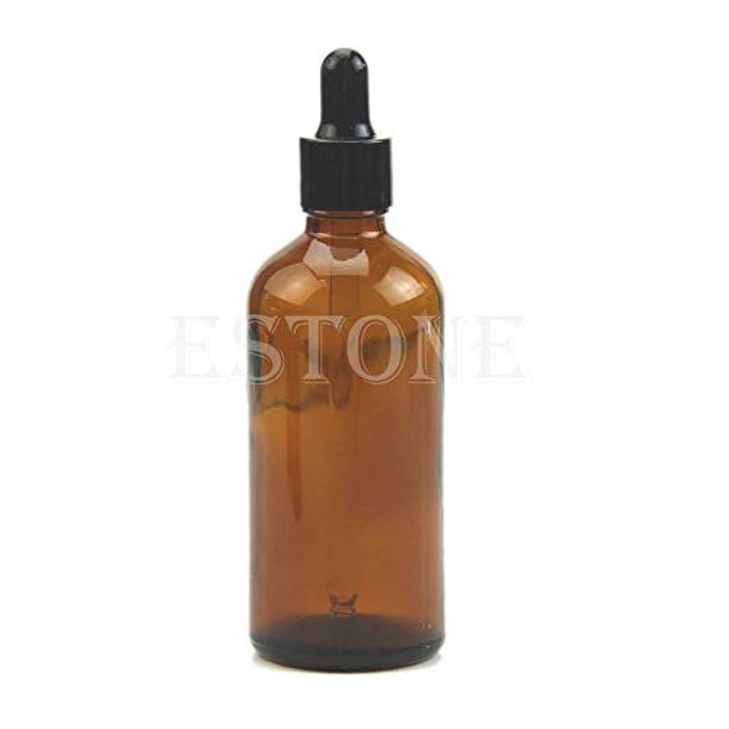 召喚する波説教SimpleLife 100mlアンバーガラス液剤ピペット瓶アイドロップアロマテラピー(容量:100ML)