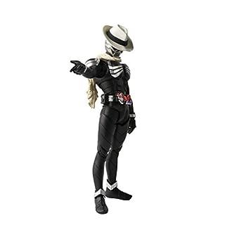 S.H.フィギュアーツ (真骨彫製法) 仮面ライダーW 仮面ライダースカル 約145mm ABS&PVC製 塗装済み可動フィギュア