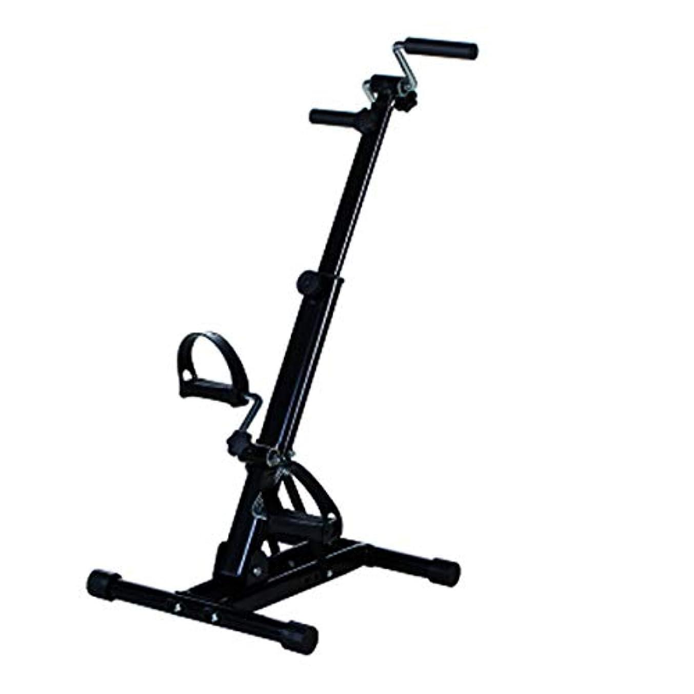 シェフ普通の慣性上肢および下肢のトレーニング機器、ホームレッグアームペダルエクササイザー、高齢者の脳卒中片麻痺リハビリテーション自転車ホーム理学療法フィットネストレーニング,A