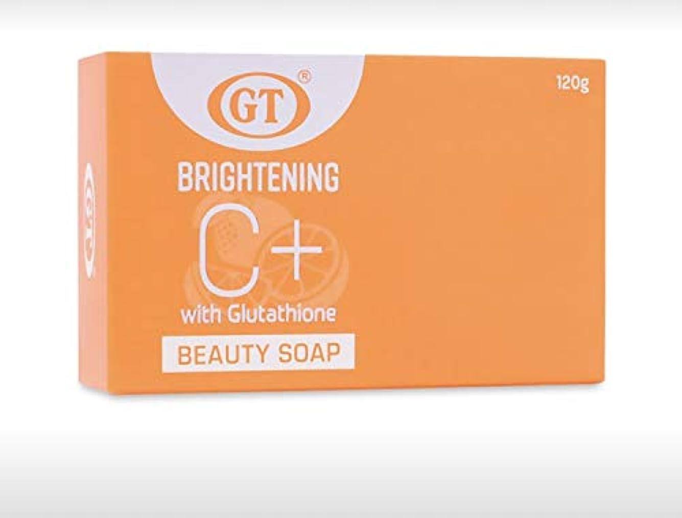 急いで音楽を聴く封建GT COSMETICS ビタミンC+グルタチオン配合ソープ 120g