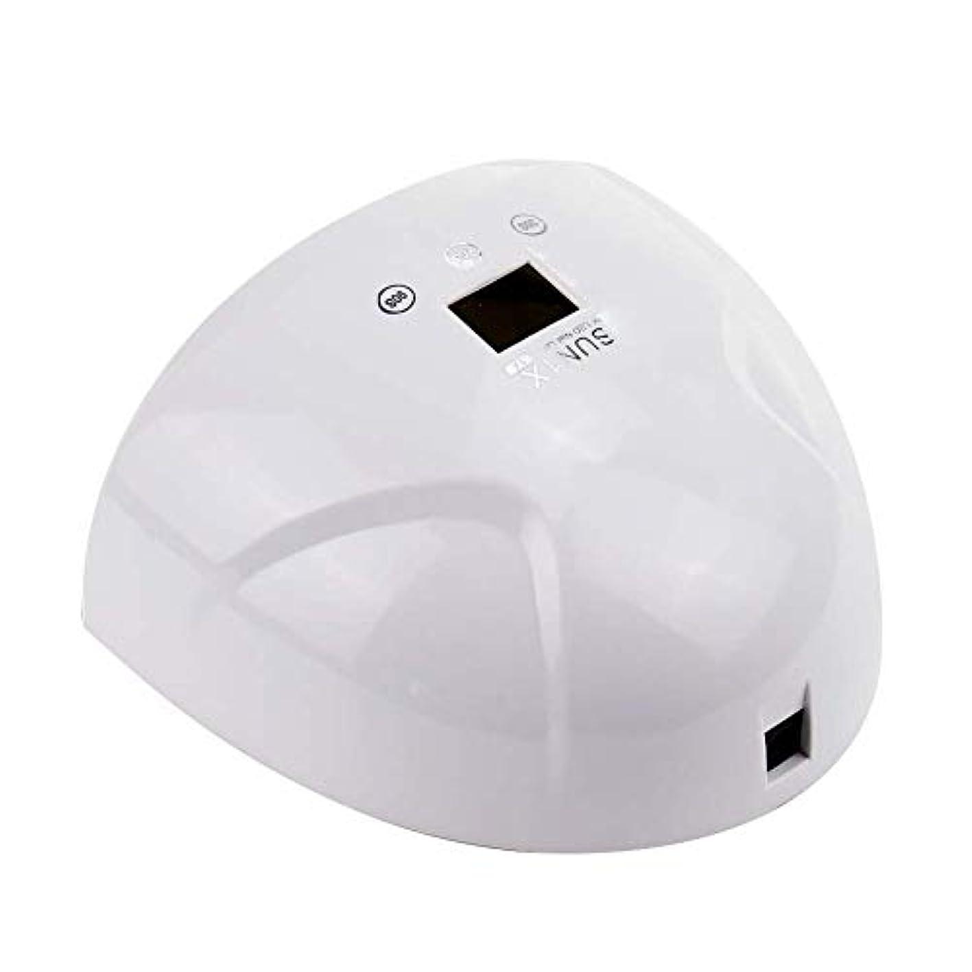 封筒欺抵抗力があるネイルドライヤーランプマニキュアネイルポリッシュledライト付き365 + 405nm 36ワット硬化ジェルuvネイルランプ機ネイルアートツール