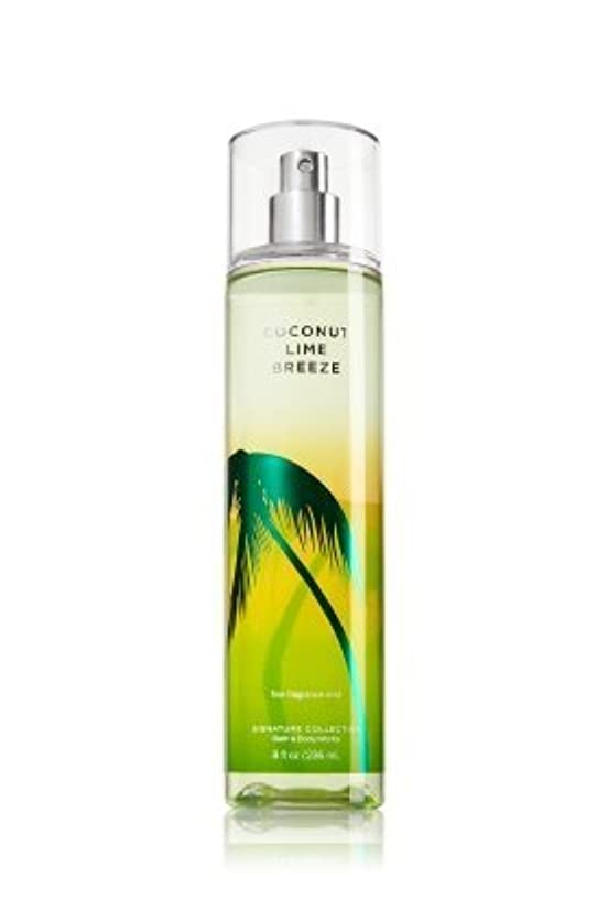 インフラ論争的花に水をやるバス&ボディワークス ココナッツライムブリーズ ファイン フレグランスミスト Coconut Lime Breeze Fine Fragrance Mist [並行輸入品]