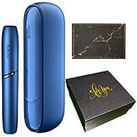 高級ギフトボックス ラッピング済み IQOS3 アイコス3 国内正規品 想い伝えるオリジナルメッセージカード付き (ステラ―ブルー)