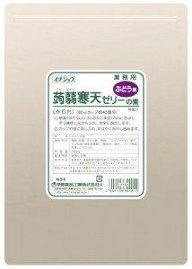 イナショク 蒟蒻寒天ゼリー(ぶどう)750g×12P(P950円)業務用
