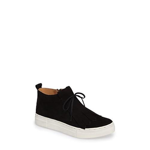 セイシェルズ シューズ スニーカー Seychelles West End Kiltie Sneaker (Wome Black Leat [並行輸入品]