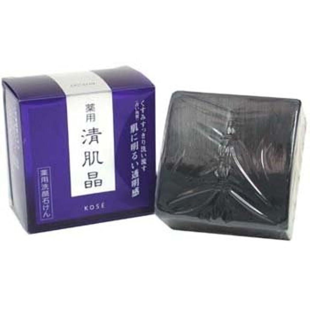 列車独特の黒くするコーセー 薬用清肌晶 ソープ(リフィル) 120g [並行輸入品][海外直送品]