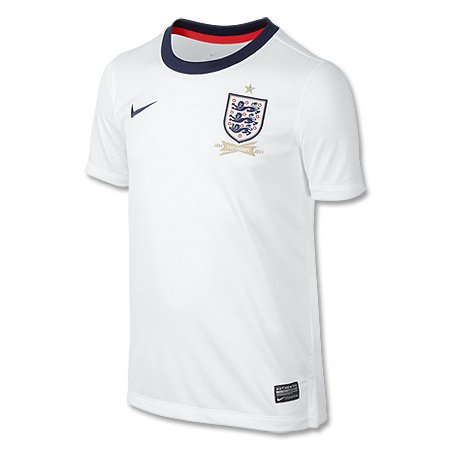 (ナイキ) NIKE イングランド代表 2013 ホームレプリカユニフォーム 160CM フットボールホワイト