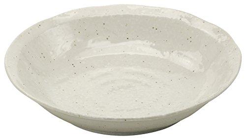 美濃焼 7.0浅鉢 ナチュラルホワイト 130992