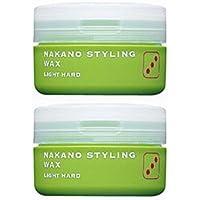 【X2個セット】 ナカノ スタイリング ワックス 3 ライトハード 90g