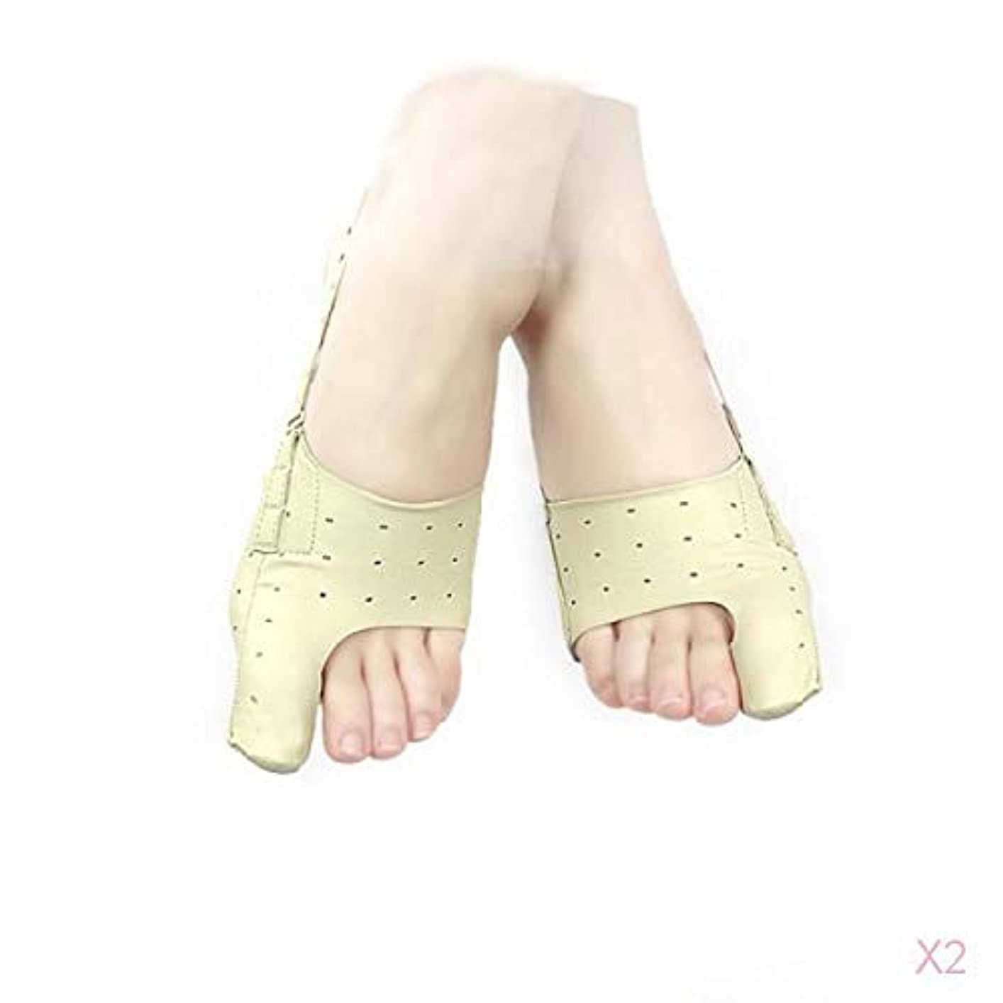 引き出す有効素人Hellery 親指サポーター バニオン スプリント 外反母趾矯正 超薄型 デイ&ナイト L 痛みを軽減 2個入