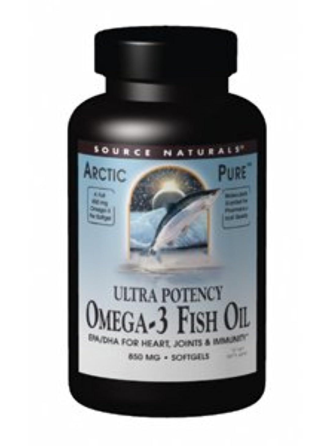 アラスカ豊かな分類アークティックピュア ウルトラポテンシー オメガ3 フィッシュオイル 60粒[海外直送品]