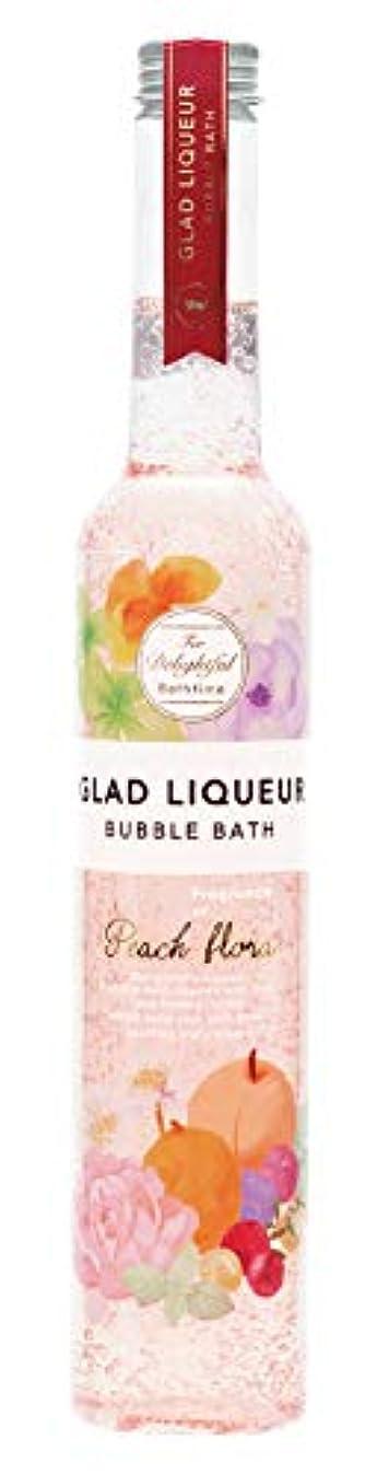 検出株式ぎこちないノルコーポレーション 入浴剤 バブルバス グラッドリキュール L 500ml ピーチフローラ GLR-2-2