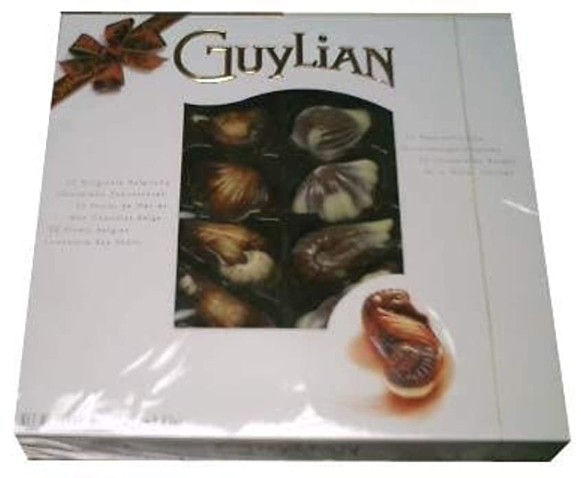 故意のブレイズ名前を作るGuylian Belgian Chocolate Sea Shells Perles d' Ocean, 8.82 Oz by GuyLian