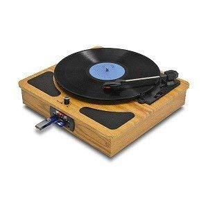レコードプレイヤー ラジオ・メディアレコーダー TRM-109W デジタル録音が出来るレコードプレーヤー