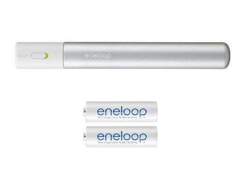 SANYO NEW eneloop スティックブースター USB出力専用ブースターセット(単3形2個セット) KBC-D1AS