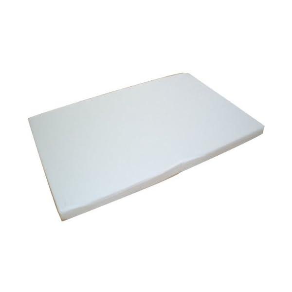 日本製 ベビー敷布団 固綿 二つ折れタイプ ホワイトの紹介画像2