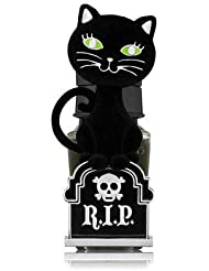 【Bath&Body Works/バス&ボディワークス】 ルームフレグランス プラグインスターター (本体のみ) ハロウィン 黒猫 ナイトライト Wallflowers Fragrance Plug Halloween...