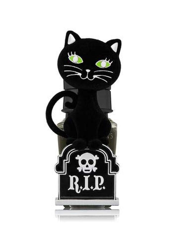 寸前抽選保証金【Bath&Body Works/バス&ボディワークス】 ルームフレグランス プラグインスターター (本体のみ) ハロウィン 黒猫 ナイトライト Wallflowers Fragrance Plug Halloween...