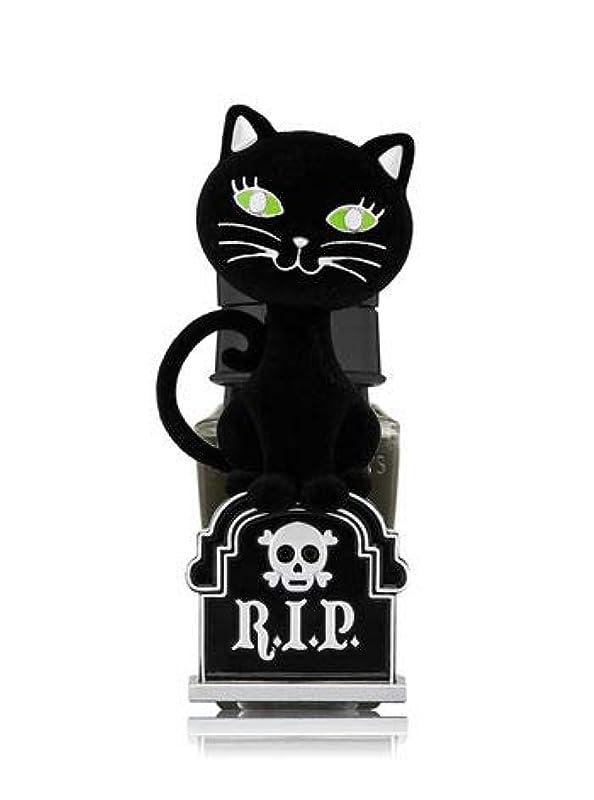 リゾート取り付け親【Bath&Body Works/バス&ボディワークス】 ルームフレグランス プラグインスターター (本体のみ) ハロウィン 黒猫 ナイトライト Wallflowers Fragrance Plug Halloween...