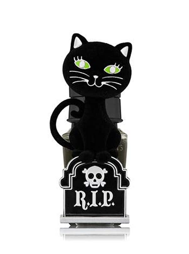 回復意欲指導する【Bath&Body Works/バス&ボディワークス】 ルームフレグランス プラグインスターター (本体のみ) ハロウィン 黒猫 ナイトライト Wallflowers Fragrance Plug Halloween...