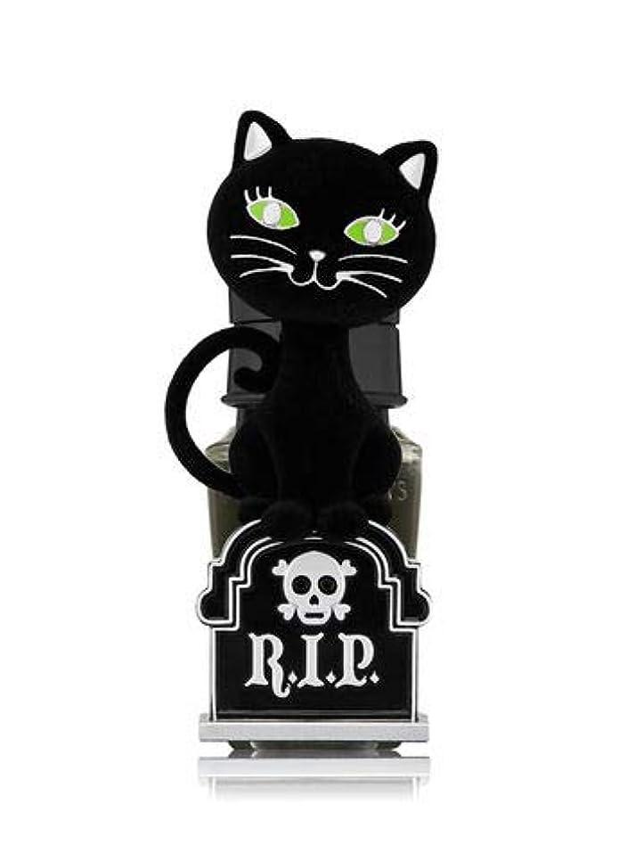 証拠コテージ共同選択【Bath&Body Works/バス&ボディワークス】 ルームフレグランス プラグインスターター (本体のみ) ハロウィン 黒猫 ナイトライト Wallflowers Fragrance Plug Halloween...